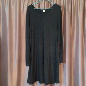 Long sleeve Old Navy dress